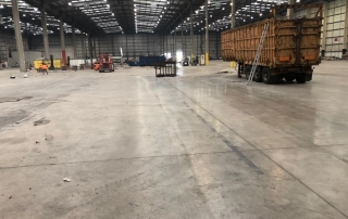 large empty warehouse